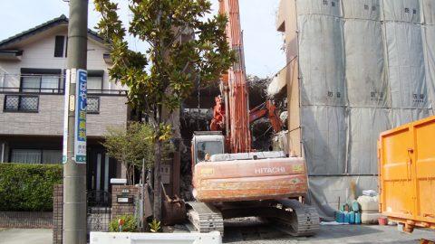 名古屋市天白区の店舗(事務所・倉庫)解体事例を公開しました。