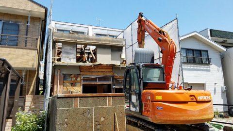 名古屋市 熱田区 D様邸 住宅解体事例を公開しました。