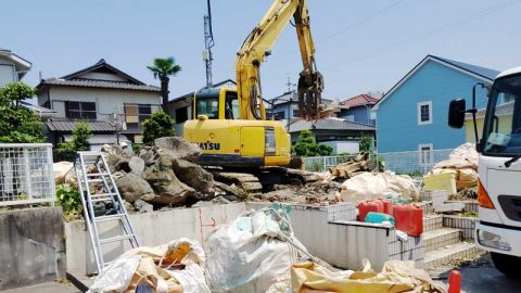 知多市 木造住宅解体事例を公開しました。