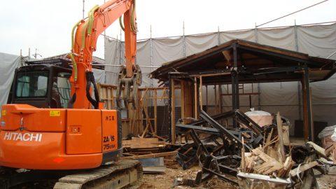 一般住宅の解体:豊田市の解体事例を公開しました。