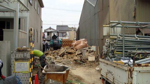 名古屋市熱田区の住宅解体事例を公開しました。