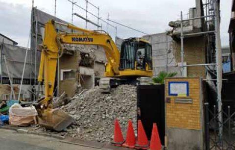 名古屋市中村区 木造住宅解体事例を公開しました。