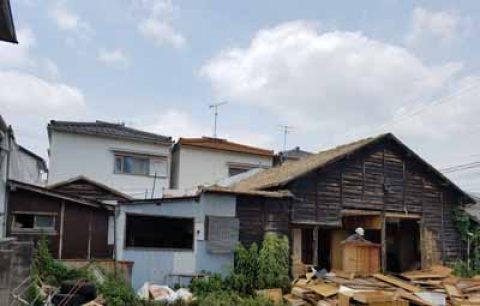 名古屋市南区 木造住宅解体事例を公開しました。